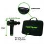 Ruční masážní stroj TUNTURI Massage Gun rozměry