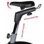 Rotoped Flow Fitness DHT750  nastavitelné sedlo
