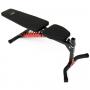 Posilovací lavice na břicho MARBO MH-L115 2.0 V rovině