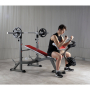 Posilovací lavice na bench press BH Fitness Optima Press Bench G330_cvik biceps