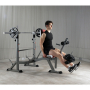 Posilovací lavice na bench press BH Fitness Optima Press Bench G330_cvik předkopy
