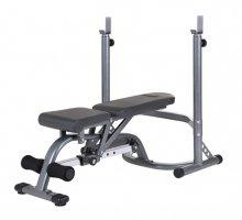 Posilovací lavice na bench press FORMERFIT 329 Set lavice + stojan