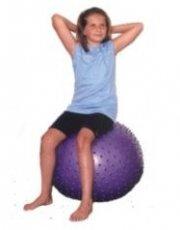 Gymnastický míč s výstupky