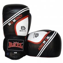 Boxerské rukavice kožené 10 OZ kůže BAIL No mercy