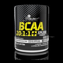 OLIMP BCAA 20:1:1 Xplode Powder + 5 vzorků WHEY PROTEIN COMPLEX ZDARMA!