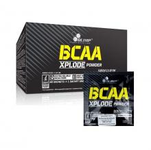 OLIMP BCAA XPLODE POWDER 40+1 sáčků pomeranč + 5 vzorků WHEY PROTEIN COMPLEX ZDARMA!
