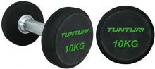 Sada jednoručních činek TUNTURI Pro 14-32 kg (10 párů)