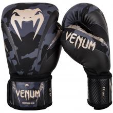 Boxerské rukavice Impact dark camo/sand VENUM