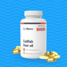 GymBeam Codfish Liver Oil 90 kapslí