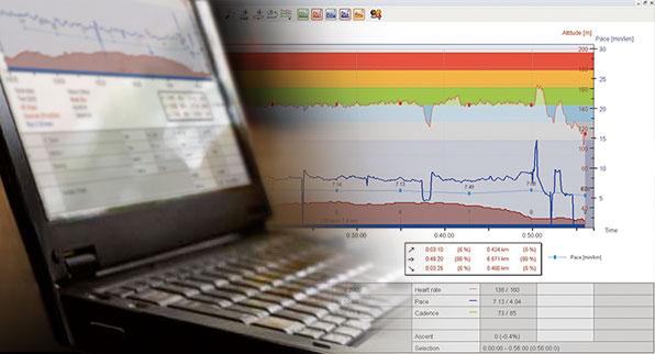 POLAR přenos dat do PC